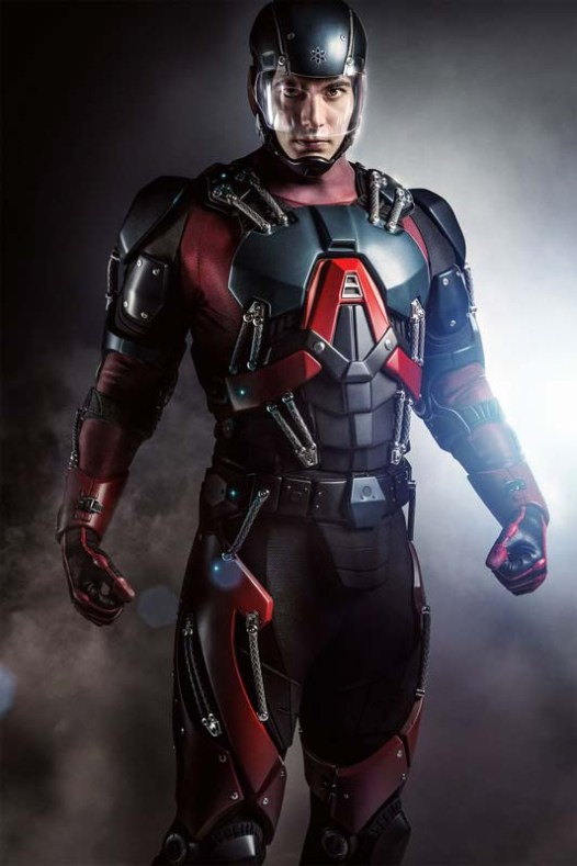 Brandon Routh Atom Suit first look
