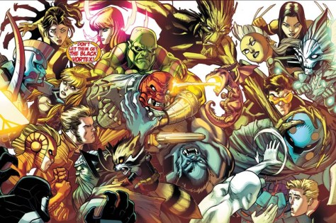 Guardians of the Galaxy & X-Men - The Black Vortex Alpha 001