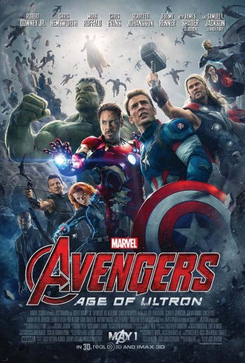 official poster for Avengers Age of Ultron 01