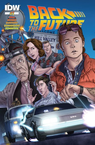 Back to the Future 001 cover