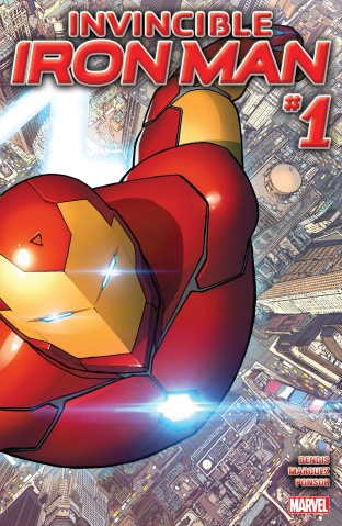 Invincible Iron Man 001 cover