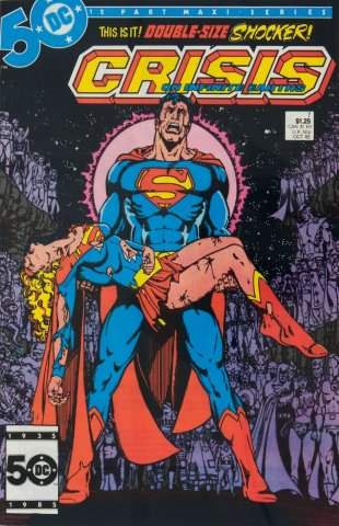 Supergirls don't cry, Superman does
