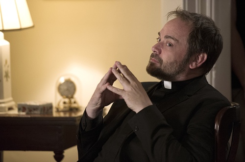 "Supernatural -- ""Form and Void""  -- Image SN1103A_0131.jpg -- Pictured: Mark Sheppard as Crowley - Photo: Carole Segal/The CW -- © 2015 The CW Network, LLC. All Rights Reserved."