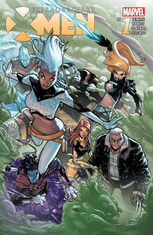 Extraordinary X-Men 01 cover