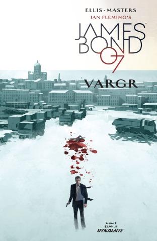 James Bond 2015 001 cover