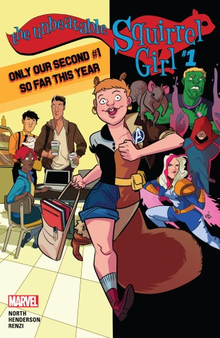 The Unbeatable Squirrel Girl vol 2 001 cover
