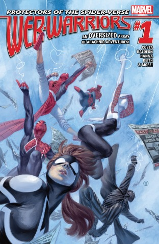 Web Warriors 001 cover
