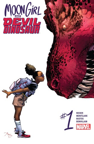 Moon Girl and Devil Dinosaur 01 cover