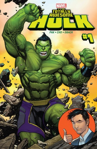 The Totally Awesome Hulk 01 cover