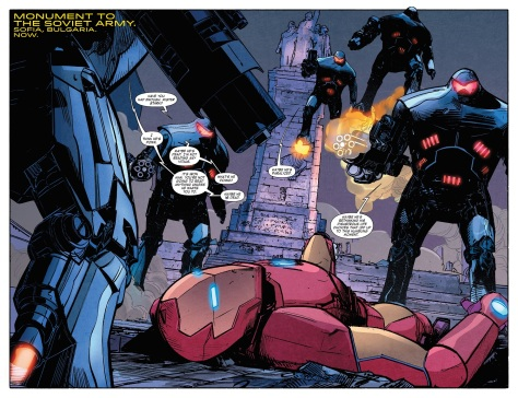 International Iron Man (2016-) 001-002