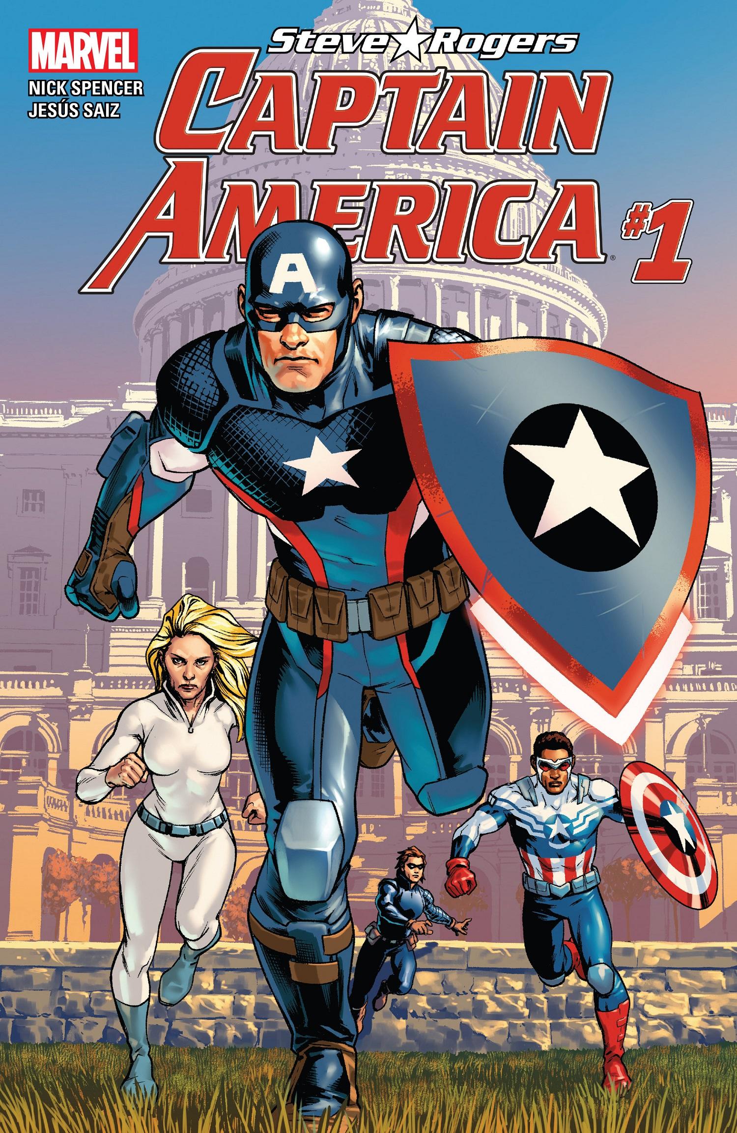 מסודר ביקורת קומיקס: CAPTAIN AMERICA: STEVE ROGERS #1 – הייל מה PM-96