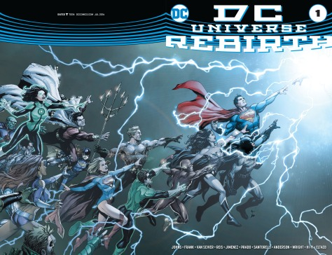 DC Universe - Rebirth review 01