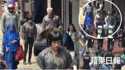 ghost in the shell set picture