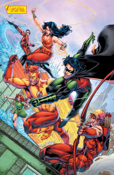 Titans - Rebirth 1 review 02