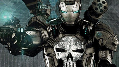 punisher war mechine