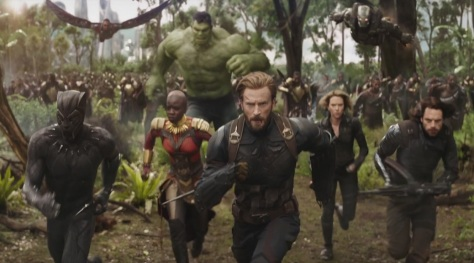 Avengers Infinity War trailer 1 - Header