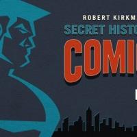 """מיום שני, """"ההיסטוריה הסודית של הקומיקס"""" בערוץ AMC"""