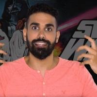 """וידאו: שובר מסך - גיל גולן על """"מלחמת הכוכבים"""""""