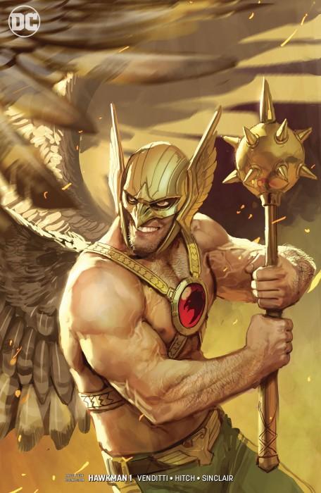 Hawkman (2018-) 001-002